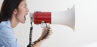 Megaphone, Public Speaking, Patricia Stark