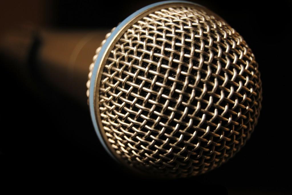 Microphone, Public Speaking, Patricia Stark